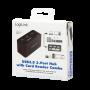 LOGILINK USB 3.0 HUB M/KORTLÆSER