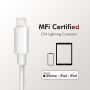 LOGILINK LIGHTNING - USB-C/M KABEL MFI 1M