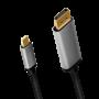 LOGILINK USB-C/M - DISPLAY PORT/M KABEL 1.8M