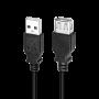 LOGILINK USB-A 2.0 FORLÆNGERKABEL M-F 5M