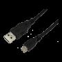LOGILINK USB-A/M - MICRO-B/M KABEL 5M