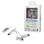 LOGILINK USB-A 2.0 - MICRO USB/LIGHTNNG/USB-C KABEL