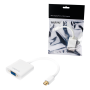 LOGILINK MICRO DISPLAY/M - VGA/F 1080P ADAPTER