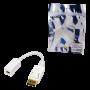 LOGILINK DISPLAY PORT/M - MICRO DISPLAY PORT/F 1080P ADAPTER