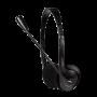 LOGILINK STEREO HEADSET M/MIKROFON 2X3.5MM JACK