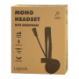 LOGILINK MONO HEADSET M/MIKROFON 3.5MM JACK