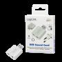 LOGILINK USB-A LYDKORT 3.5MM JACK IN/OUT