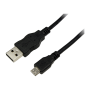 LOGILINK USB-A/M - MICRO-B/M KABEL 1M