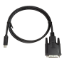 LOGILINK USB-C/M - DVI-D/M KABEL 1,8M