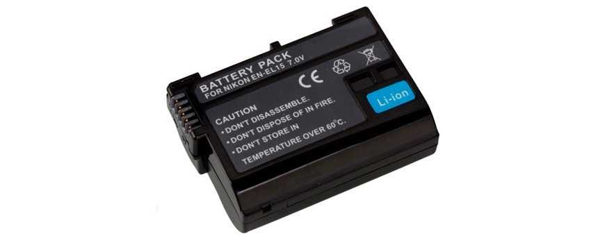 Kamerabatterier