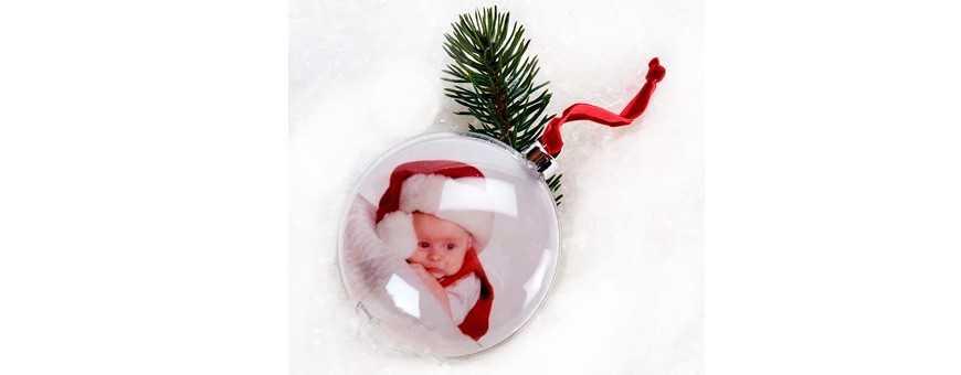 Snekugler og julepynt